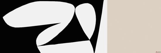 《以工业的名义—桃色事件》,2010年,360*120cm, 黑白木刻