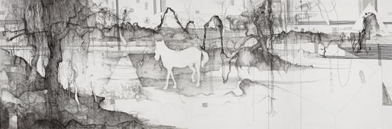 2012白马过隙440x150cm-
