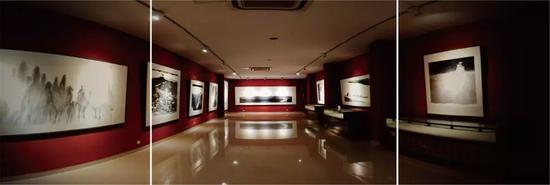 盖茂森艺术馆 展厅景观之一