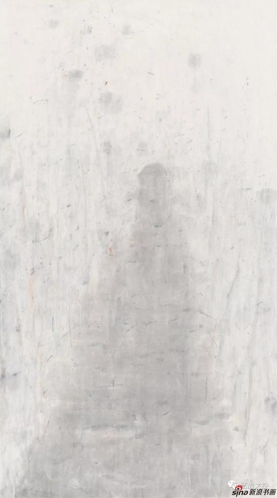 杜小同《通向那儿》191cm×106cm 2016年