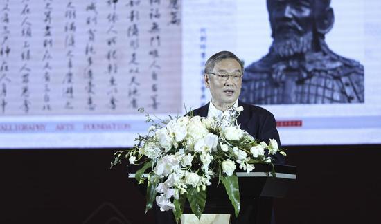 何国庆 台湾何创时书法艺术基金会董事长