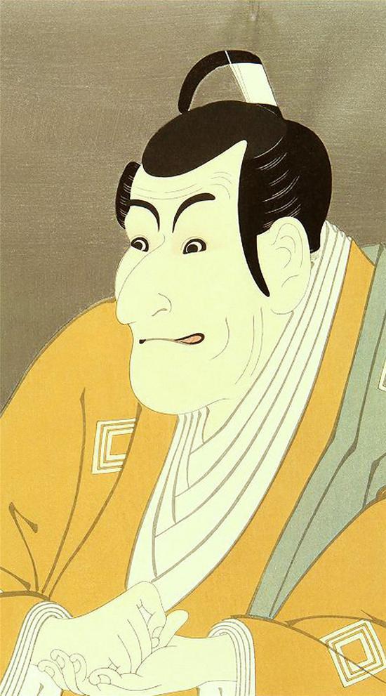 东洲斋写乐-《特写大首绘》-1774年