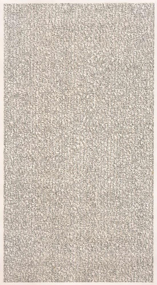 陈光武 《标点符号》系列 水墨纸本 1995年