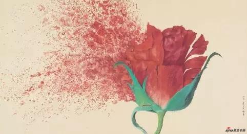 《花开》 93cm×171cm   喻 慧