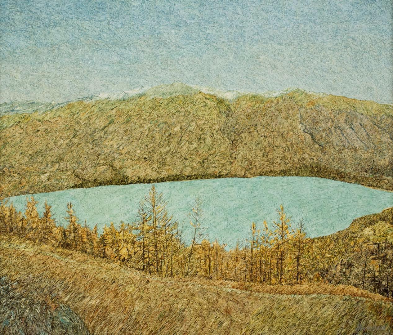 譚尚勤:繪畫是一種遵循內心本能的自然流露