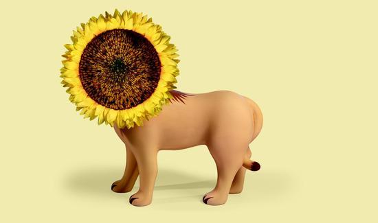 北野武,《动物与花卉造型花瓶》系列,《狮子》,完整图注见excel文档