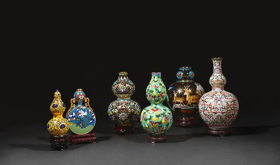 中国工艺美术大师米振雄从艺60周年大成之作《景泰六福》