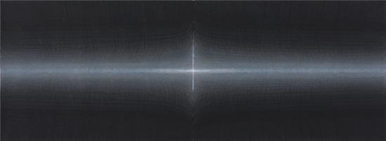 田卫,《有间之二》 ,178×70cm,宣纸水墨,2017年
