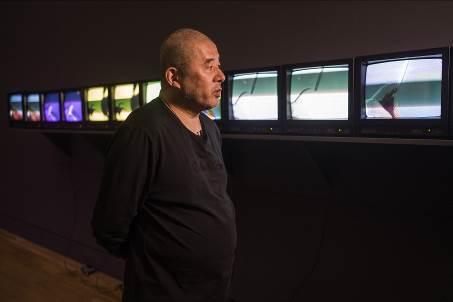 艺术家张培力接受采访