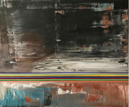 Miquel Gelabert Decemberland 6 54x65cm oil on canvas 2018