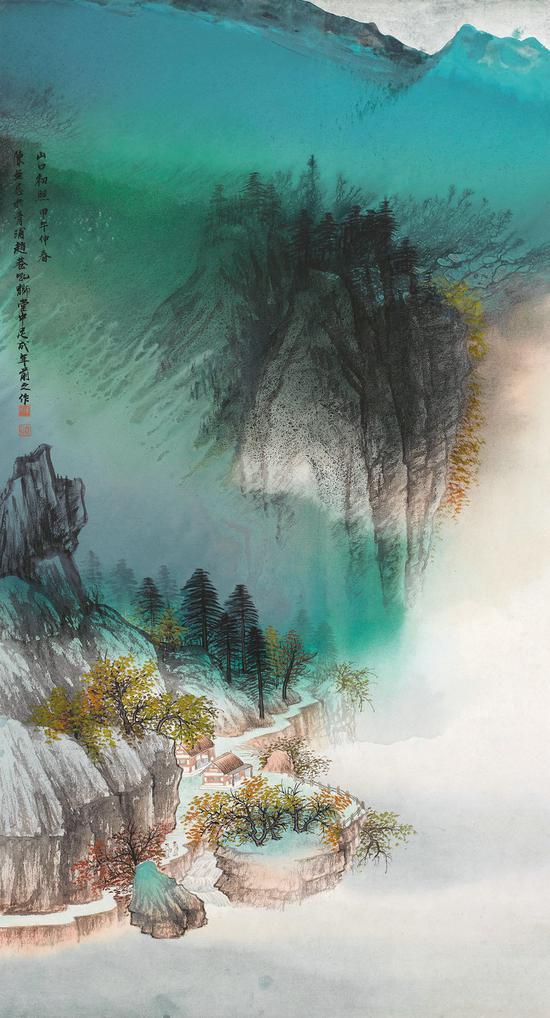 陈无忌-山口初照-2014年