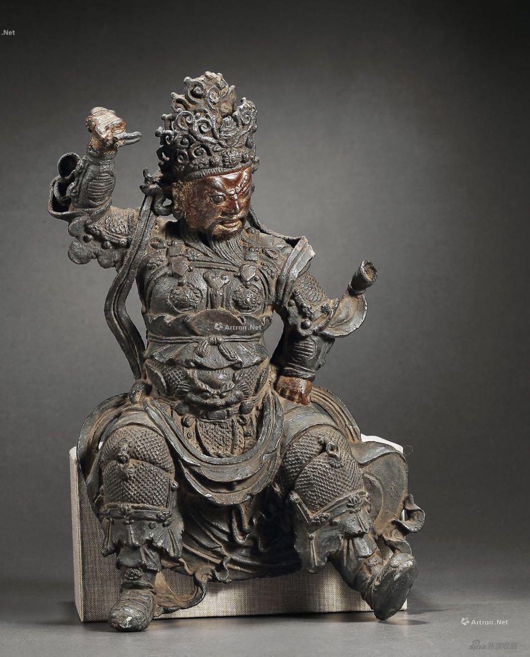 《大理国铜天王像》,铜,来自迎客松