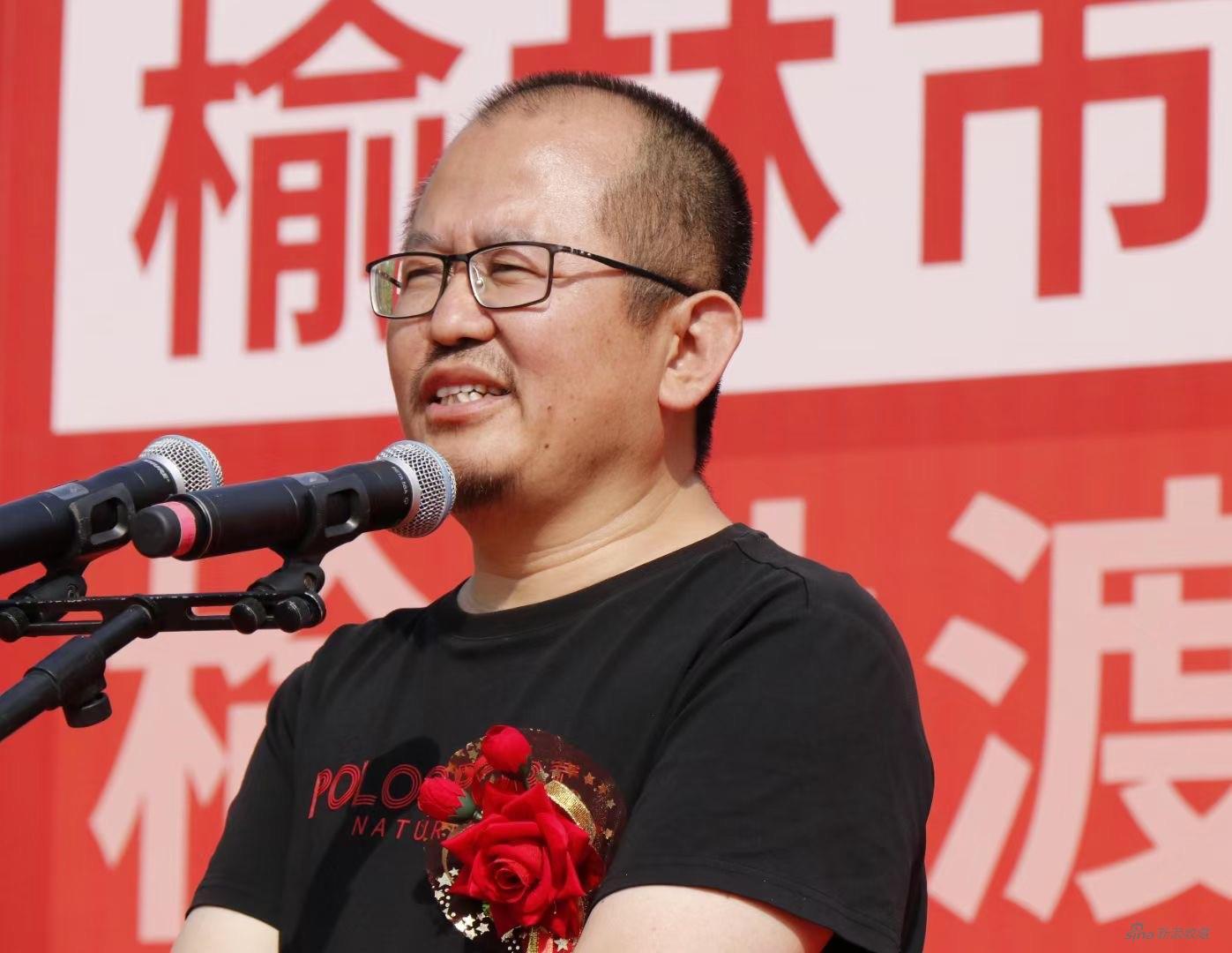渡渡美術館創辦人劉若望致辭