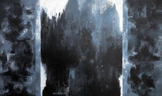 《中堂-3》60×100cm 布面丙烯 2015