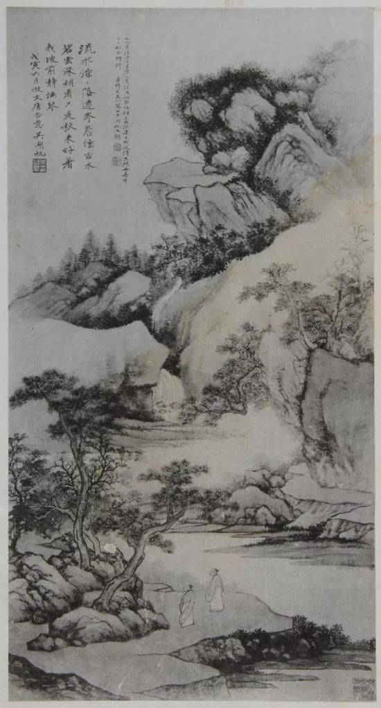 拍品在《梅景画笈》中的出版页