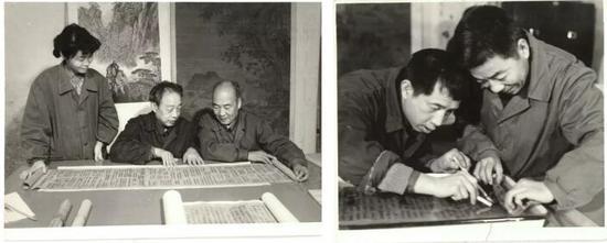 左起:杨若恒 王家瑞 张贵桐 冯鹏生 李振东