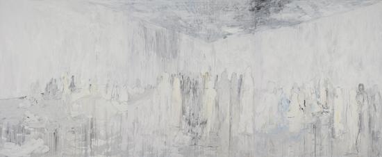 《非相》5.1x2.5m.2015年.油画