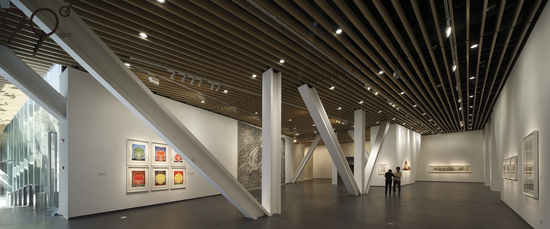 中国版画博物馆首届中国版画艺术节展览现场