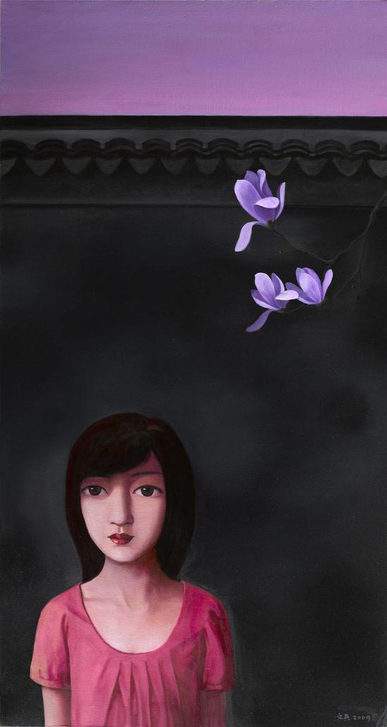 玉兰花Magnolia150 x80cm2008