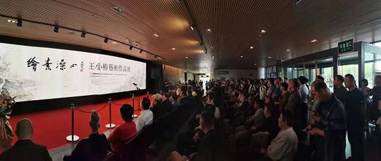 王小椿艺术作品展在徐州美术馆开展