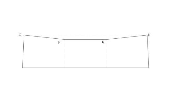 图五燕尾形泥片图