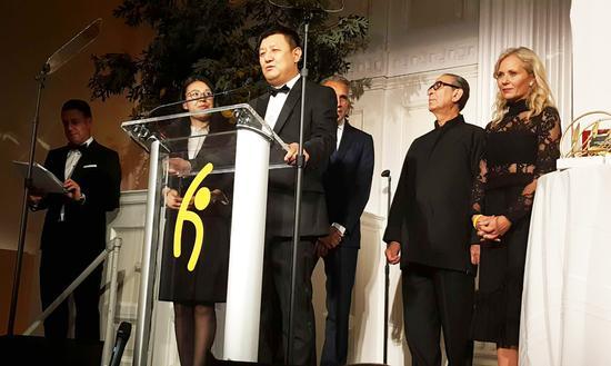 全球希望联合会亚洲区主席、永新华韵文化产业集团主席李永军先生致辞