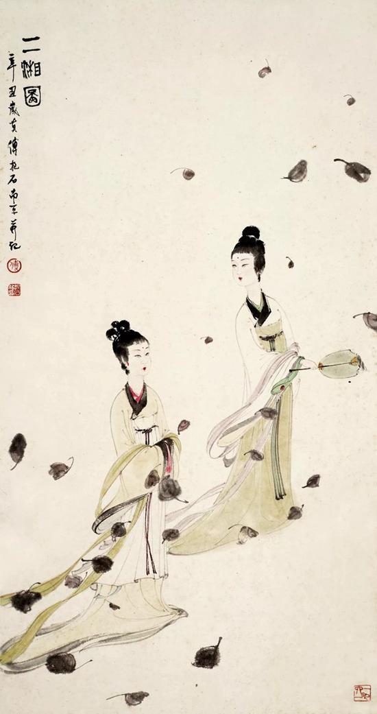 华艺国际18春拍:傅抱石《二湘图》首次亮相