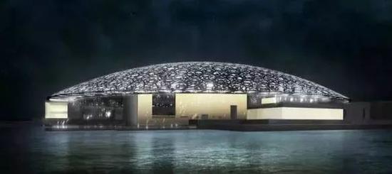 卢浮宫阿布扎比博物馆外景