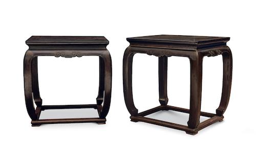 参阅:清早期 紫檀有束腰马蹄腿带托泥长方凳
