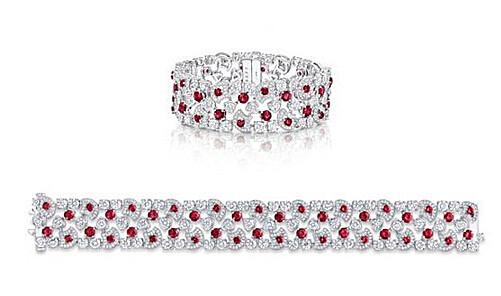 Graff 格拉夫Icon系列红宝石和钻石手镯