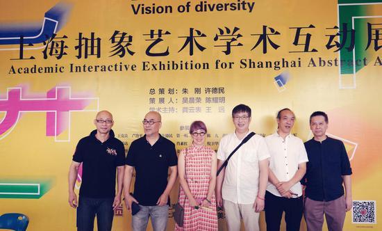 左起:吴晨荣、陆云华、牛安、汪东东、林依峰、何伟。
