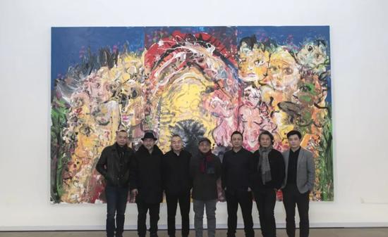 从左至右:吕山川、钟声、孙永增、杜曦云、张旭东、张琪凯、曹茂超