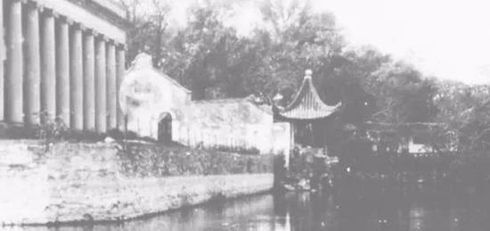 苏州沧浪亭 摄于1930年代