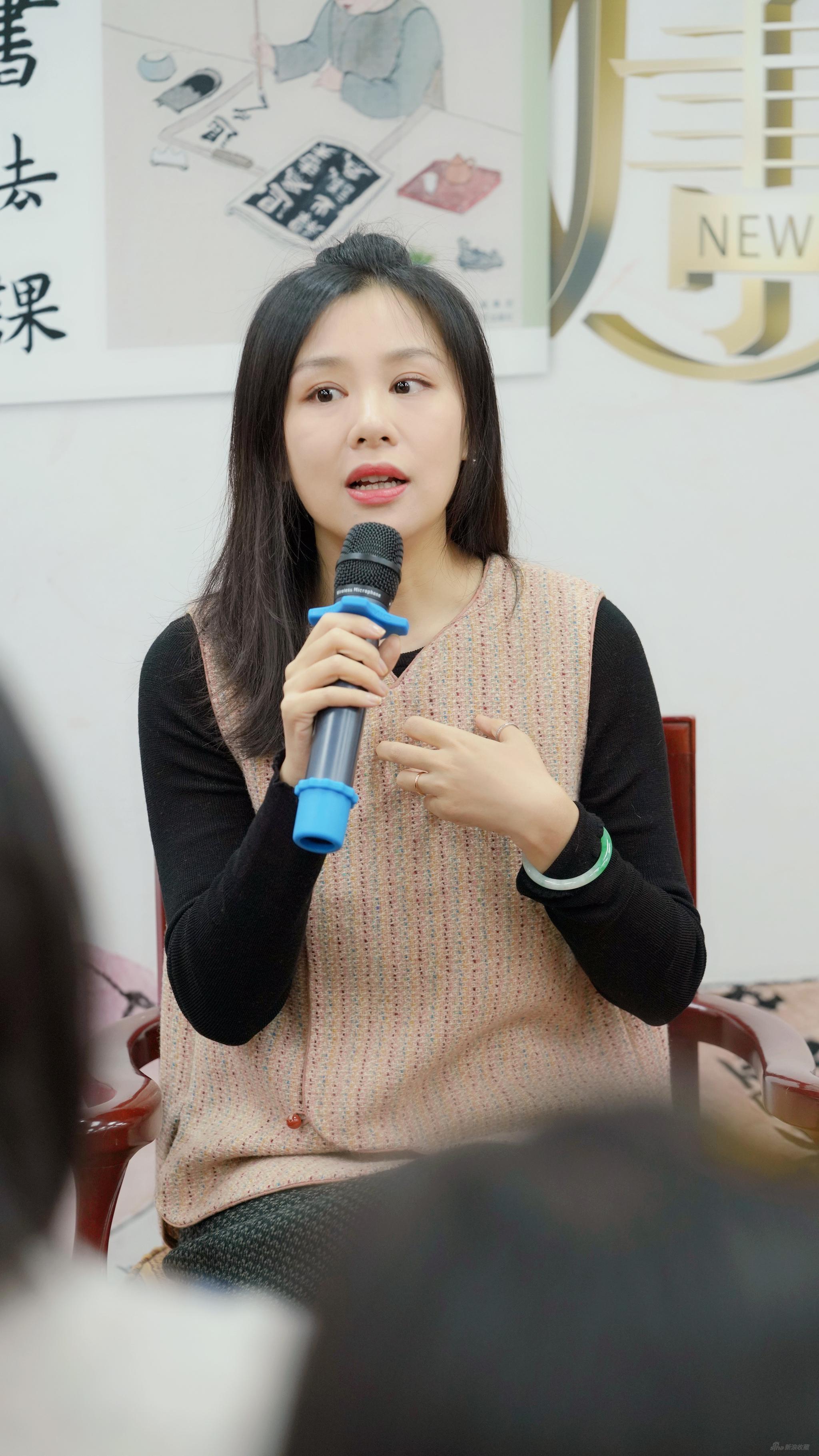 林曦《书法课》上海读者见面会现场