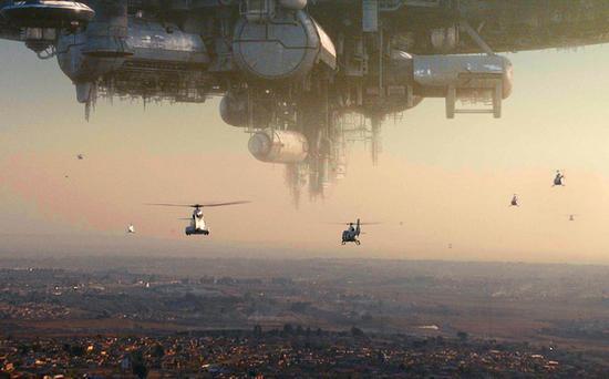 ▲ 科幻电影中人类与外星物之间的战争