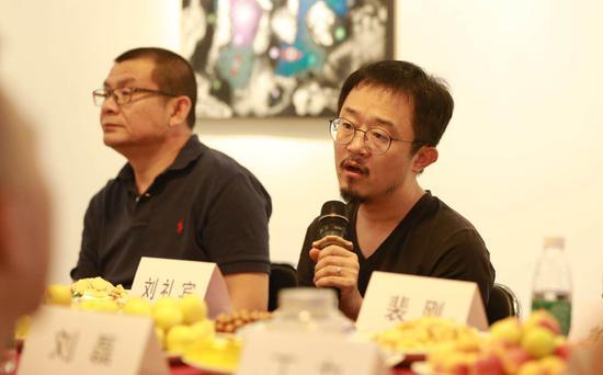 中央美院美术学研究所所长批评家策展人刘礼宾