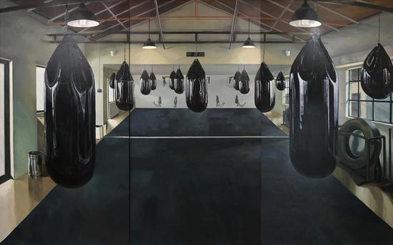 《生命场》布面油画 210x330cm 2018