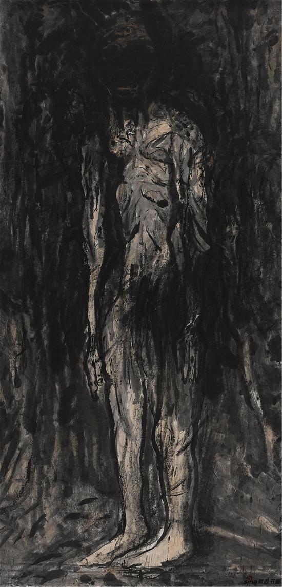 刘进安 进安水墨(1)创作年代:2016年作品尺寸:248cm×126cm