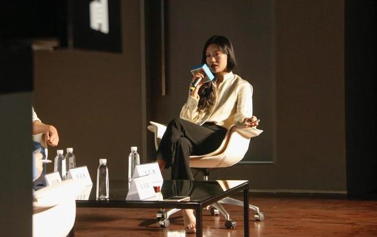 第二场次与谈人artnet 商务拓展总监王艺迪