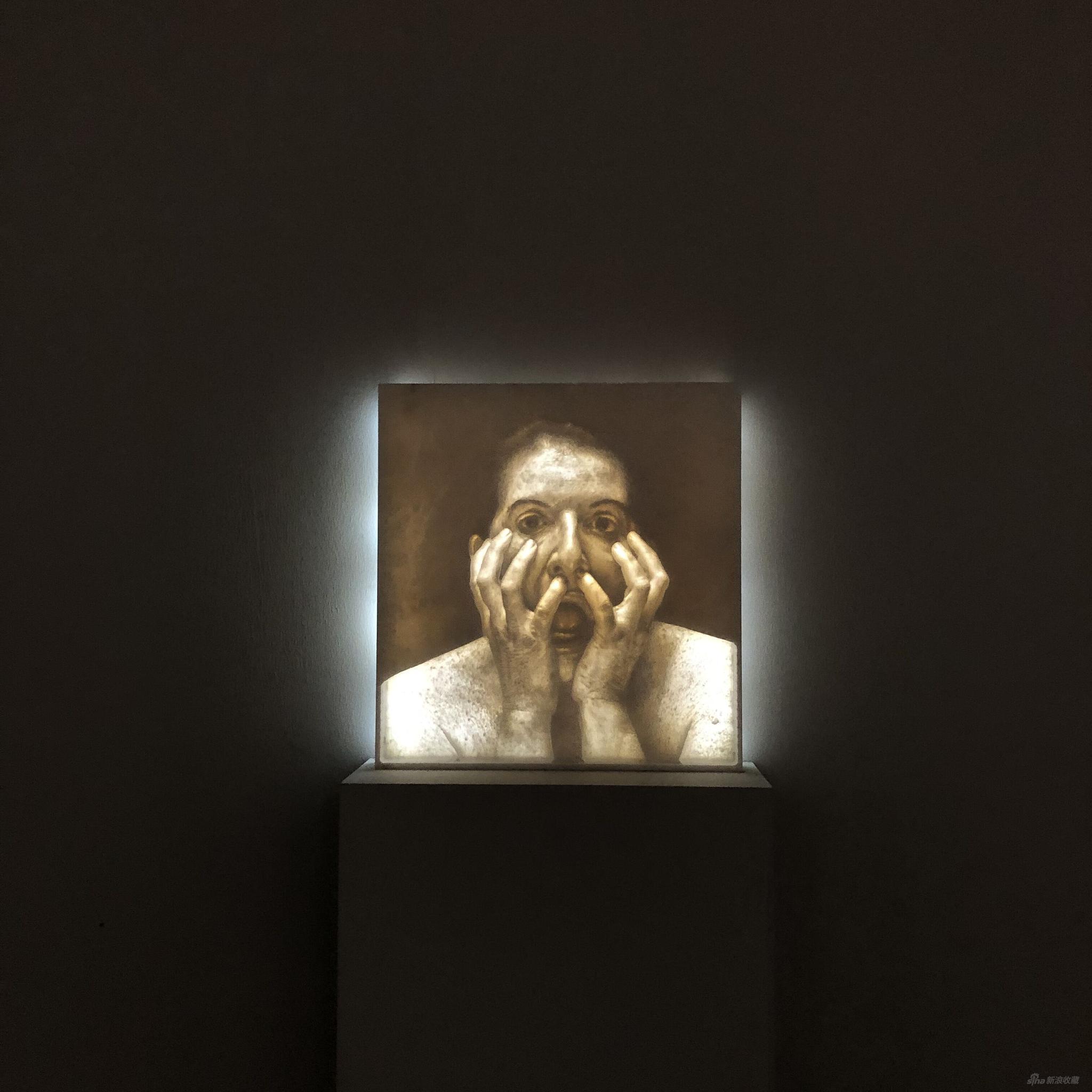 玛丽娜·阿布拉莫维奇 ,The Scream,stage1,2013年,作品归属:里森画廊