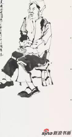 黎小强《人物写生》