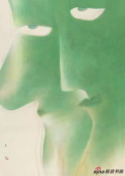 卢甫圣《入时无》,水墨设色,245×176cm,2013年