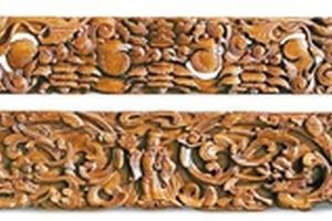 木雕花板折射出的收藏潜力