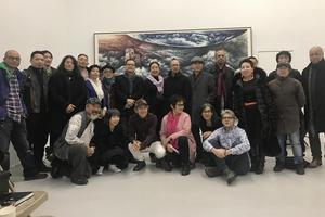 中国艺术家姬子艺术纽约隆重开幕