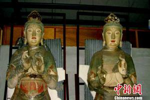 山西明代彩塑菩萨流失台湾 两岸共促文物归乡