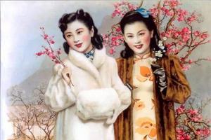 老上海月份牌的前世今生:绘画风格是典型中西合璧