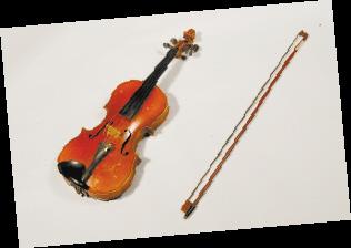 聂耳生前用过的小提琴。省博物馆供图