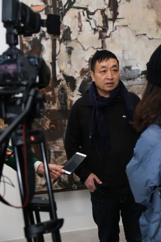 中国美术学院绘画艺术学院副院长、本次展览策展人井士剑接受采访