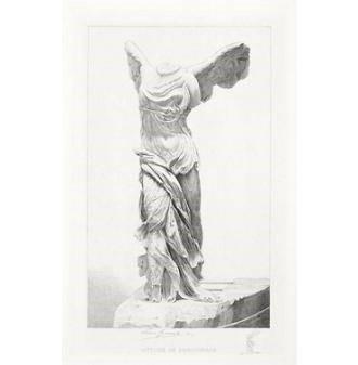 《萨莫色雷斯岛的胜利女神雕像》