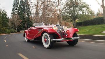 欧洲收藏家专注奔驰古董车